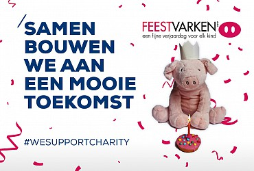 ASK Romein supports charity!